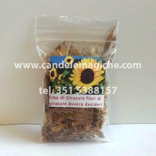 confezione di erba di fiori di girasole