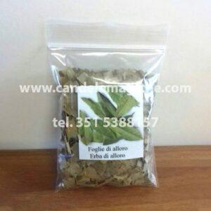 confezione di foglie di alloro