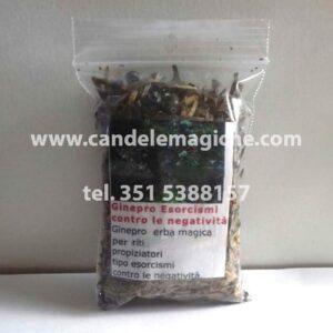 confezione di foglie di ginepro