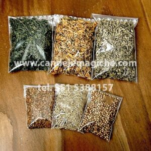 confezione di erba di iris