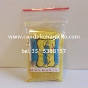 confezione di polvere di erba assafetida