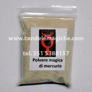 bustina di polvere magica di mercurio
