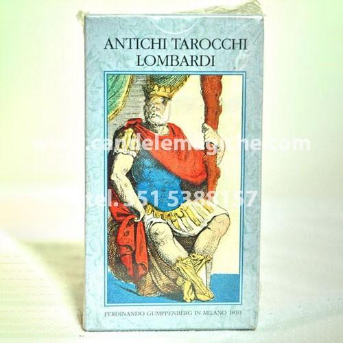 Mazzo carte antichi tarocchi lombardi