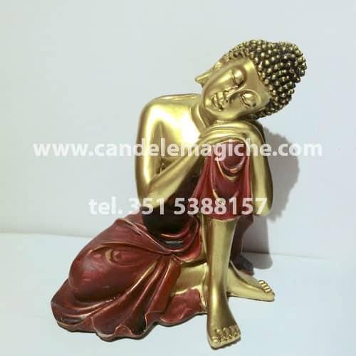 statua buddha thailandese effetto oro