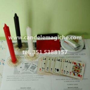 kit per la consacrazione della carte dei tarocchi