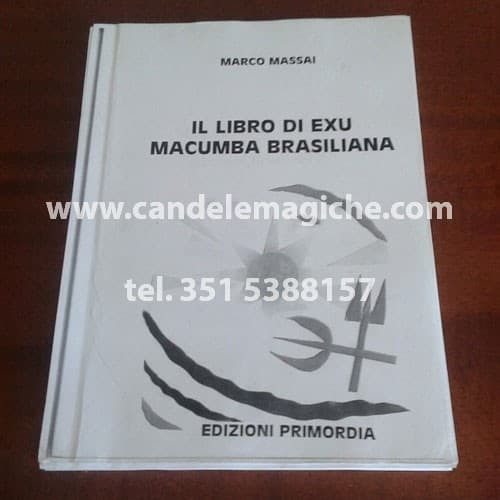 libro di exu macumba brasiliana