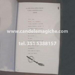 il libro delle formule magiche e incantesimi delle streghe
