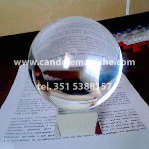 sfera di cristallo per rituali da 15cm