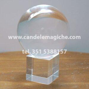 sfera di cristallo per chiaroveggenza