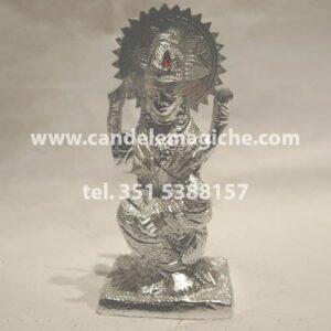 statua in metallo della dea lakshmi