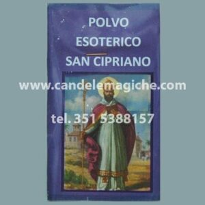 bustina di polvere esoterica san cipriano