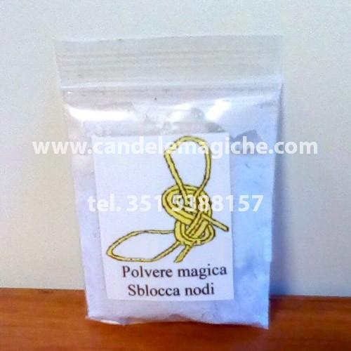bustina di polvere magica sblocca nodi